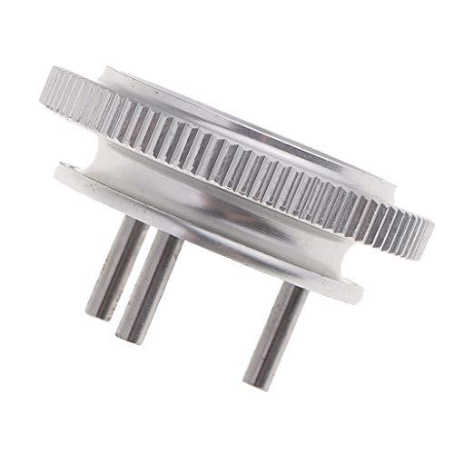 Fenteer 3 Pin 3-polige Kupplungsglocke Kupplung Schwungrad für 1/8 HSP RC Auto Crawler - Silber - Schwungrad-auto