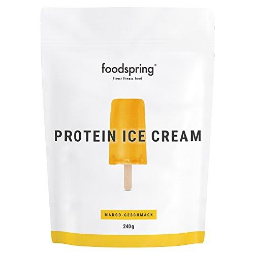 foodspring Protein Ice Cream, Mango, 240g, Dein Protein Shake am Stiel