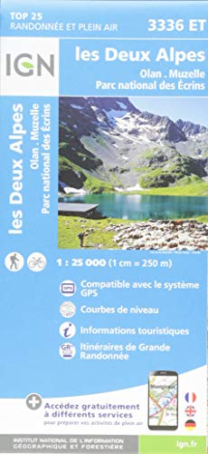 Les Deux Alpes, Olan Muzelle, Parc national des Ecrins segunda mano  Se entrega en toda España