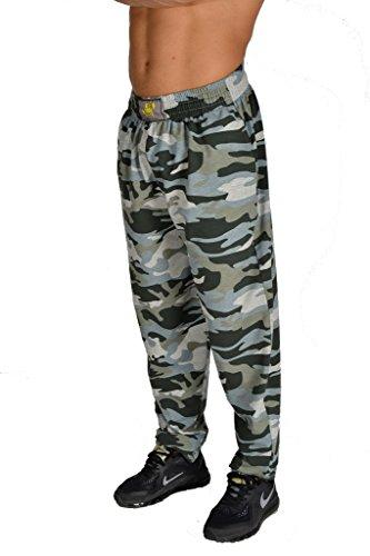 BIG SM EXTREME SPORTSWEAR Men's Baggy Track Pants Gym Workout Bodypants 1133 XL (Pants Mens Track)