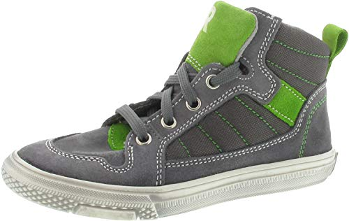 Richter Sneaker high Größe 36, Farbe: grau/grün
