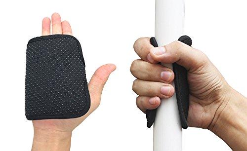 Wommty 2 Stück Rutschfeste Neopren Universal Kayak Paddle Handschuhe Comfort Grips Kajak Paddel Paddle Griff passend für Verschiedene Arten von Kajak Paddel