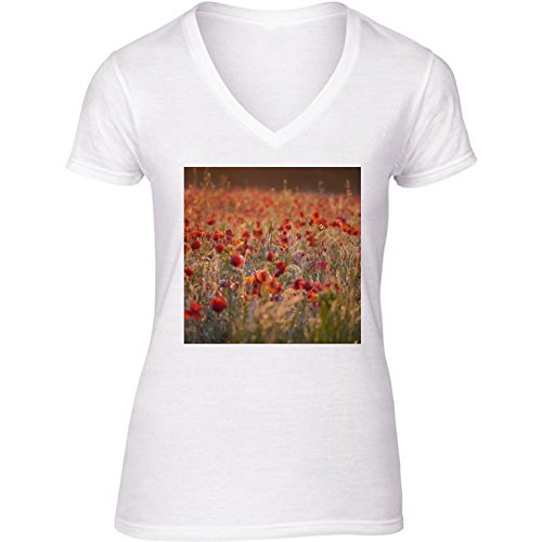 t-shirt-bianco-scollo-a-v-donne-taglia-s-campo-prato-by-wonderfuldreampicture