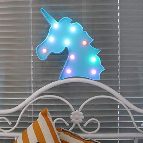 CC6 Night Light Props Ins Licorne Tête Tir Décoratif Lumières LED Lampe de Bureau Mignon Chambre des Enfants Styling Night Light Rêve Tenture Murale