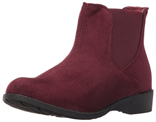 Propet Women's Scout Ankle Bootie, Burgundy Velour, 6.5 2E US Scout-ankle Boot
