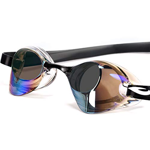 Schutzbrillen für Erwachsene Beruf Schwimmen Brille HD Wasserdicht und Anti-Fog-Beschichtung Flat Light Schwimmbrille männlich und weiblich Erwachsene Universal Brille (Farbe: A), Jin Dun Shop (Jins Brille)