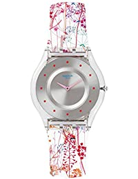 Swatch Girl's SFE102 Classic Jardin Fleuri Swiss Quartz Watch