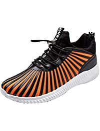 OSYARD Chaussures de Sport Femme Basket Running Respirantes Jogging Athlétique Sneakers Courtes Fitness Tennis Mesh Shoes