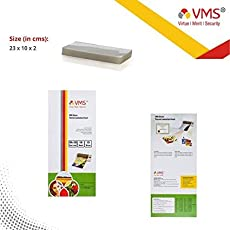 Thermal Laminating Pouches - 100 Sheets - 125 Microns - for Big Aadhar Cards - Pmw
