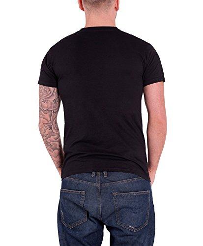 Fall Out Boy T Shirt Skeleton band logo offiziell Herren Schwarz Schwarz
