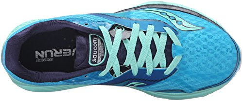 Saucony Kinvara 7, Chaussures de Running Entrainement Femme Turquoise (Teal/Navy/Silver)