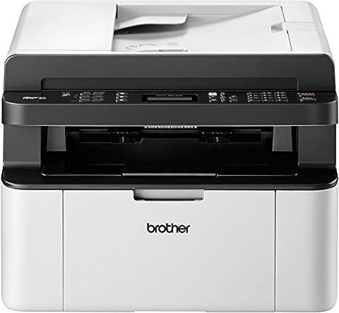 Brother MFC-1910W Kompaktes 4-in-1 Monolaser-Multifunktionsgerät (Drucken, scannen, kopieren, faxen)
