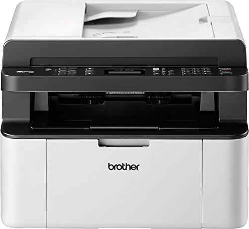 fax brother Brother MFC-1910W Kompaktes 4-in-1 Monolaser-Multifunktionsgerät (Drucken, scannen, kopieren, faxen) grau/weiß