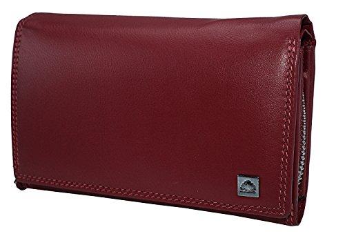 Damengeldbörse , Portafogli  Uomo Multicolore rosso rosso