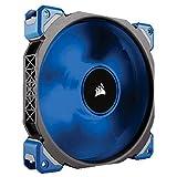 Corsair ML140 Pro LED PC-Gehäuselüfter (140mm, mit Premium Magnetschwebetechnik, blaue LED, Single Pack)