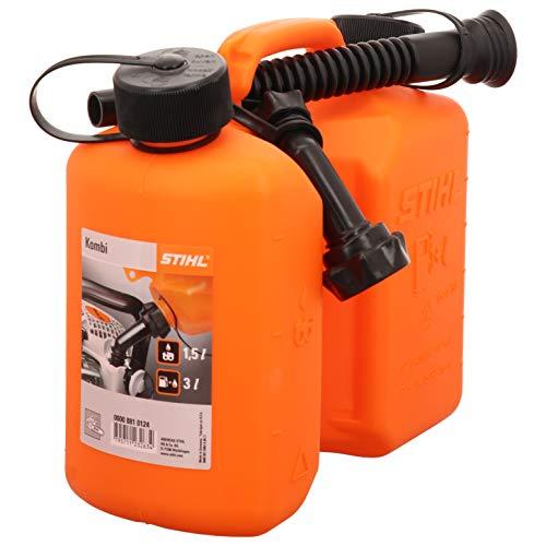 Stihl Kombi Kanister orange, Standard 3 und 1,5 Liter