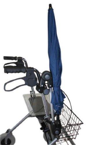 MPB Pieper Rollatorschirm 85L Schirm für Rollatoren dunkelblau