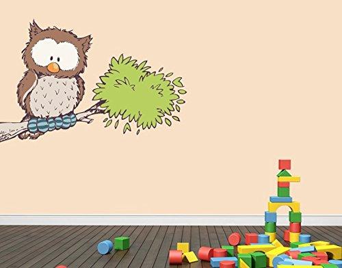 Preisvergleich Produktbild Klebefieber Wandtattoo Oscar Owl B x H: 100cm x 65cm