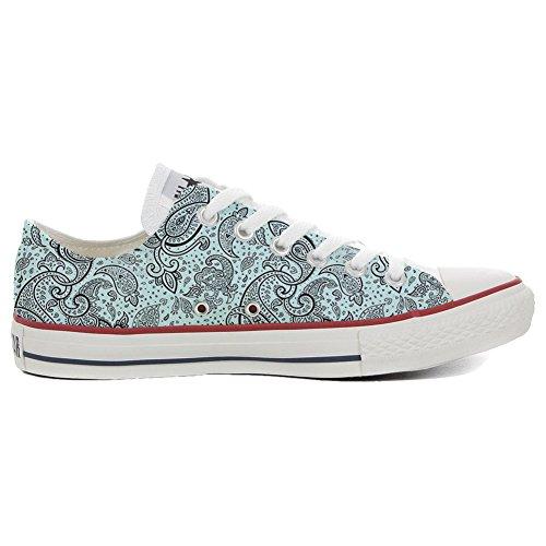 stomized - personalisierte Schuhe (Handwerk Produkt) Elegant Paisley Size 46 EU ()