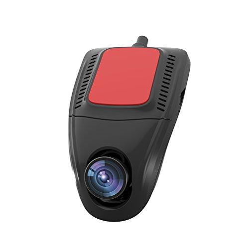 Dvr 30fps (Vosarea Ultra HD 1920x1080 / 30FPS Weitwinkelobjektiv WiFi 2 Zoll Mini Car Camcorder Auto DVR)