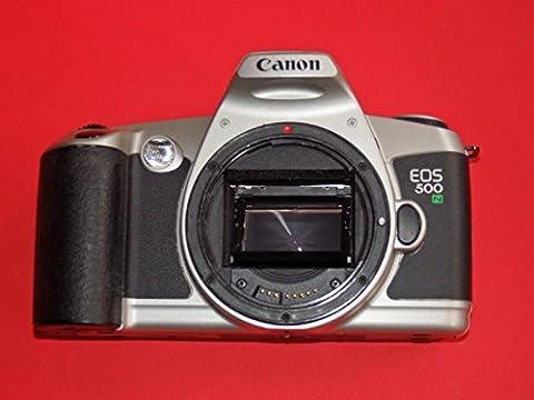 Appareil photo Canon EOS 500N–Argent–Boîtier fin Collector–Rare–Body–SLR–Analogique Appareil photo reflex # # Camera By photo Flash Collectibles # # # #