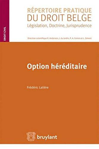 Option héréditaire par Frédéric Laliere