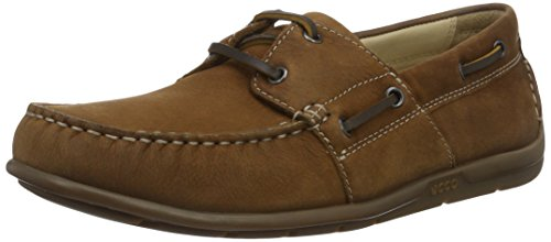 Ecco Classic 2.0, Chaussures Bateau Homme Marron (2195Mahogany)