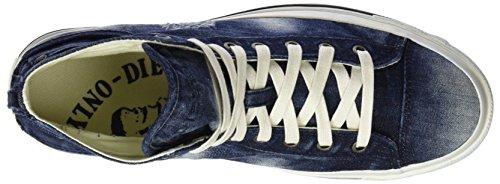 Diesel Herren Magnete Exposure I Mid Hohe Sneaker Blau (T6067 Indigo)