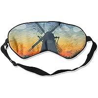 Sleep Eye Mask Windmill Shade Lightweight Soft Blindfold Adjustable Head Strap Eyeshade Travel Eyepatch preisvergleich bei billige-tabletten.eu