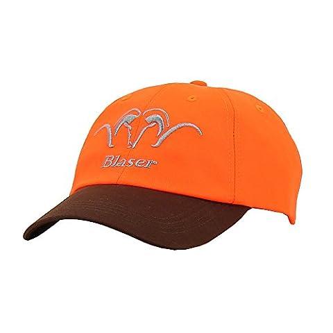 casquette homme blaser signal orange
