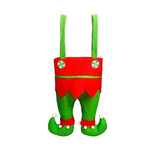 nachten Rotwein Flasche Taschen, Süßigkeiten Taschen, Weihnachtsgeschenk Taschen , D (Mini-filz-weihnachts-strümpfe)