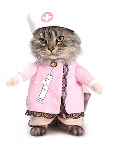 Inception Pro Infinite Kostüm - Verkleidung - Krankenschwester - Doktor - Arzt - Katze (M)