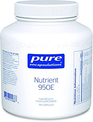 Pure Encapsulations - Nutrient 950E - Multivitamin with Activated Vitamins and Chelated Minerals - 180 Capsules by Pure Encapsulations