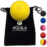 Balle de massage - boule de kinésithérapie pour les points sensibles et relaxation (Jaune)