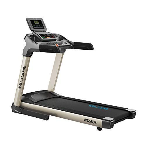 Welcare Motorized Treadmill WC5888 AC 2 HP,India's Most Trusted Fitness Equipment's Brand