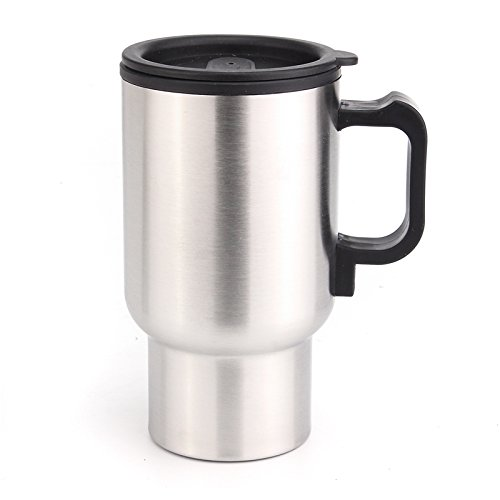 Tasse en acier inoxydable avec mousqueton placement tasse tasse gobelet thermos tasse NEUF