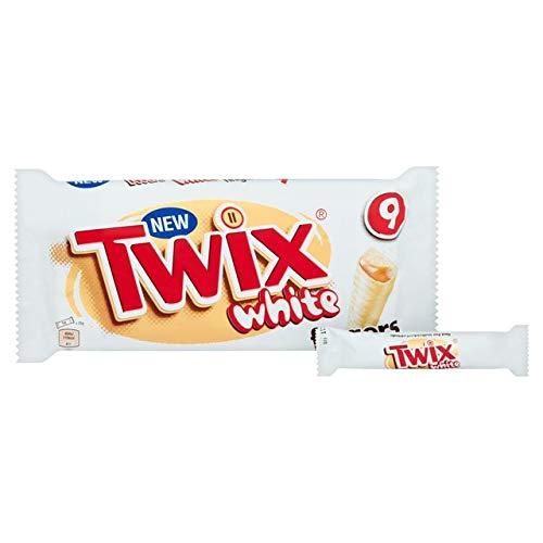 New White Chocolate Twix Fingers 23g x 9