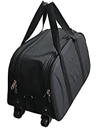 Saisan Matty Polyester Travel Duffel Bag, Lightweight Waterproof Luggage, Cabin Bag Shoulder Bag For Travelling...