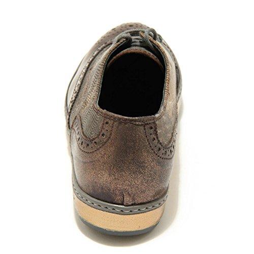 03 3370g Shoes Calzatura Scarpa Daff Soisire Donna Soiebleu Marrone wgaqZxYvrg