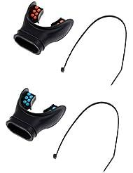 Gazechimp 2 x Embout En SIlicone Pour Détendeur De Plongée En Apnée Sport Nautique Accessoire