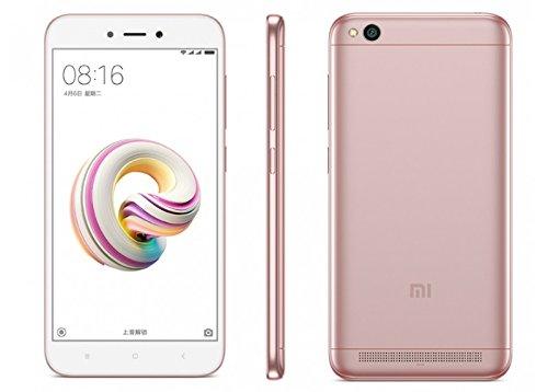 Xiaomi Redmi 5A Smartphone, 16 GB, Rosa/Oro [Italia]
