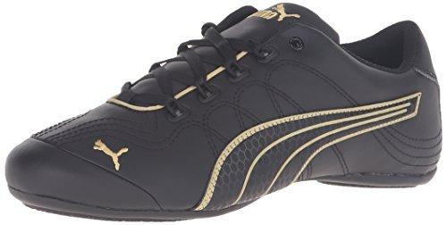 Puma - - Frauen-Soleil V2 Comfort Fun Schuhe Puma-Black/Gold