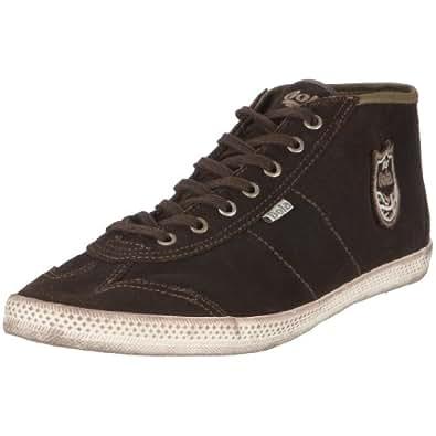 Gola Question CMA386, Herren, Sneaker, Braun (Dark Brown), EU 42 (UK 8)