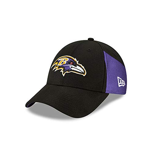New Era Baltimore Ravens 9forty Adjustable Cap Nfl19 Draft Black - One-Size