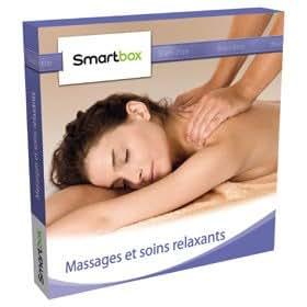 Coffret cadeau Smartbox - Massages et soins relaxants
