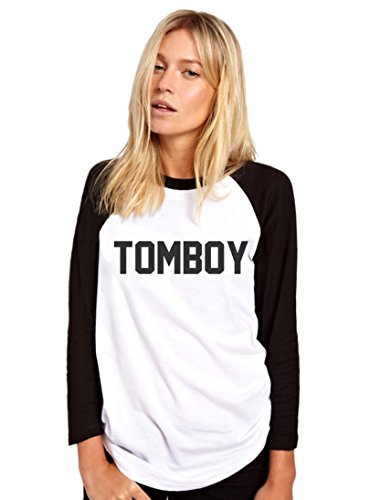 HotScamp Tomboy - Tomboy Womens Baseball Top