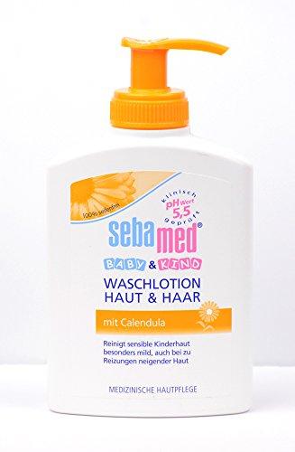 Sebamed Baby & Kind Waschlotion Haut & Haar mit Calendula 200ml