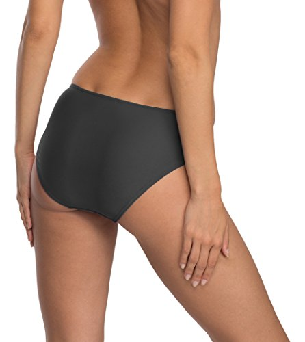 Verano Damen Bikini Slip Unterteil Rachel Graphite