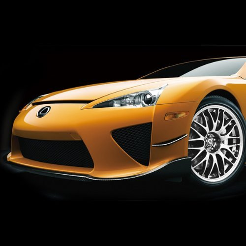 Radio-control-car-radio-control-car-licensed-RC-LEXUS-LFA-Orange