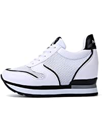 Lazzboy Damen Mode Atmungsaktive Schuhe Casual Turnschuhe Fitness Schuhe Plattform Sneaker